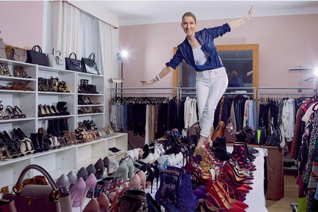 "Once in Paris, ""Shopaholic"" Celine Dion hires stylist Law Roach."