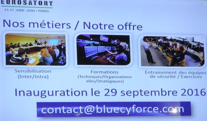 France Security News visited COGES & Eurosatory 2016.