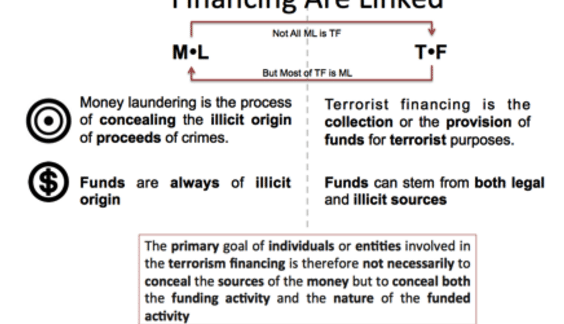 France's arsenal to combat money-laundering and terrorist financing.